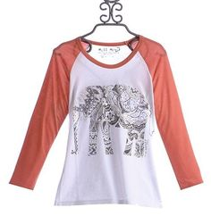 Miss Me Girls / Youth White With Orange Sleeves T-shirt Size Small NWT #MissMe