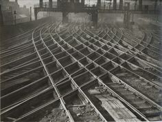 Railroad Tracks, Newcastle 1895