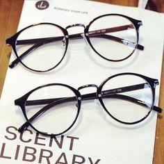 ANEWISH Retro Olhos Redondos Óculos de Armação Homens Mulheres Miopia Óculos de Armação Ultra Light Vintage Plain Lens oculos de grau femininos