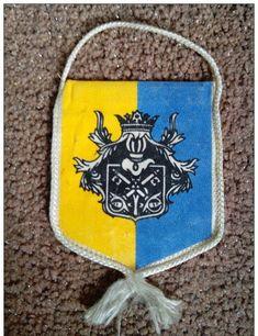 VERY RARE  FLAG SENTA ZENTA ATHLETICS CLUB UNIQUE