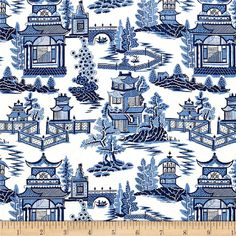 This beautiful screen-printed, medium weight, 100% linen has a smooth hand and is perfect for window treatments (draperies, swags, valances), toss pillows, bedding and more. Colors include white and shades of blue.