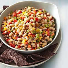 Texas Caviar is perfect for #potlucks. Serve this Southern side with corn chips. http://www.parents.com/recipe/texas-caviar/?socsrc=pmmpin110812fTexasCaviar