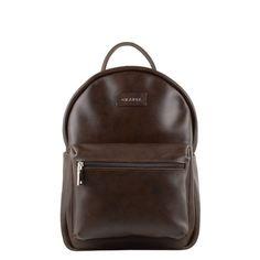 GRAFEA Grafea Backpack, Leather Backpack, Dark Brown, Fashion Backpack, Backpacks, Zipper, Blog, Leather Backpacks, Backpack