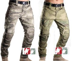 b13b6e0d74387 A-TACS-FG-AU-Combat-Pants-Tactical-Ripstop-Trousers-US-Military-Airsoft- Hunting