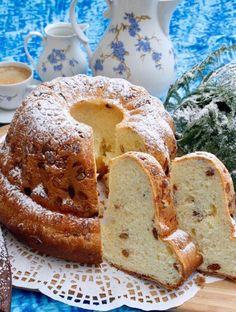 Kouglof ou kougelhopf traditionnel alsacien | Gâteau et cuisine Rachida French Toast, Bread, Breakfast, Recipes, Pains, Food, Desserts, Raisin, Pastries