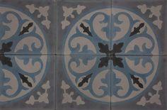 The kitchen floor from Marrakech design