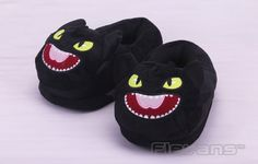 How to Train Your Dragon Night Fury Toothless Plush Shoes Home House Winter Slippers for Children Women Men ANSE049 on Aliexpress.com | Alibaba Group