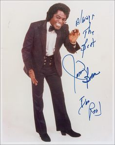 """James Brown - """"I got you"""" (I feel good) """"It's a Man's Man's Man's World"""" """"Get On the Good Foot"""""""