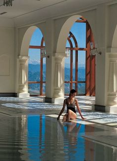 Most Beautiful Hotel Pools | Wildflower Hall - Shimla, India