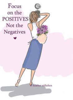 Heather Stillufsen Illustration from Rose Hill Designs Positive Quotes For Women, Positive Thoughts, Positive Vibes, Focus Quotes, Girl Quotes, Woman Quotes, Rose Hill Designs, Affirmations, Citations Film