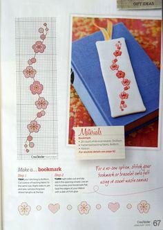 Small Cross Stitch, Cross Stitch Books, Cross Stitch Bookmarks, Cross Stitch Cards, Cross Stitch Borders, Cross Stitch Flowers, Cross Stitch Designs, Cross Stitching, Cross Stitch Embroidery