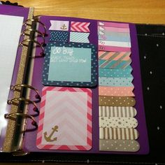 What a nice collection of page flags! ______________________________ planner dashboard.