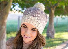 Mont Blanc Fair Isle Hat - Crochet Pattern by Hopeful Honey