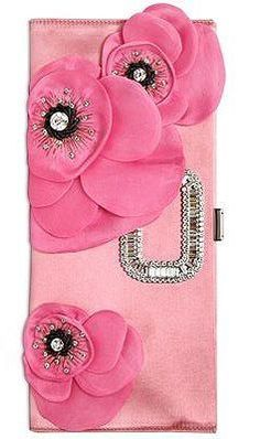 Trendy Women's Purses : Roger Vivier Pink Love, Pretty In Pink, Hot Pink, Perfect Pink, Pink Clutch, Everything Pink, Roger Vivier, Color Rosa, Pink Color