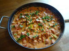 Edels Mat & Vin: Hverdagsgryte med pølser av kylling og kalkun ✿