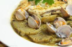 Qué comemos hoy: pescado blanco con alcachofas en salsa de berros