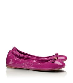 Tory Burch Bow Berry Flats.