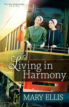 Living in Harmony by Mary Ellis - Amy King-young, engaged, and Amish-faces difficult challenges in her life when she suddenly loses both of her parents in a house fire. Can she find a way to live in happily in Harmony before making a lifetime commitment to another? (Bilbary Town Library: Good for Readers, Good for Libraries)
