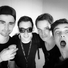 Dyro, Hardwell, Dannic, & Martin Garrix <3 yeah this picture is pretty much peeeerfect!<3