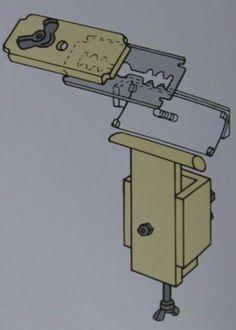 Шерфовочная машинка, элемент