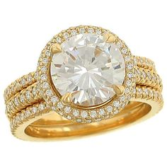 Amanda does not fck with anything but gold..in third person. Michael B. yellow gold engagement ring and wedding bands!