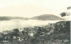 Akershus fylke Frogn kommune Drøbak oversikt Utg C.A.Erichsen, Kristiania tidlig 1900-tall