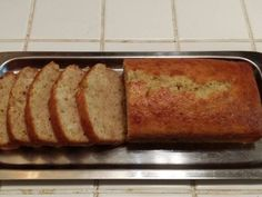 İdeen Easy Cake Quick and Easy Banana Cake: Easy recipe for bananas and banana bread, Zucchini Bread Muffins, Gluten Free Zucchini Bread, Zucchini Bread Recipes, Banana Bread Recipes, Cake Recipes, Dessert Recipes, Healthy Zucchini, Healthy Bread Recipes, Cooking Recipes