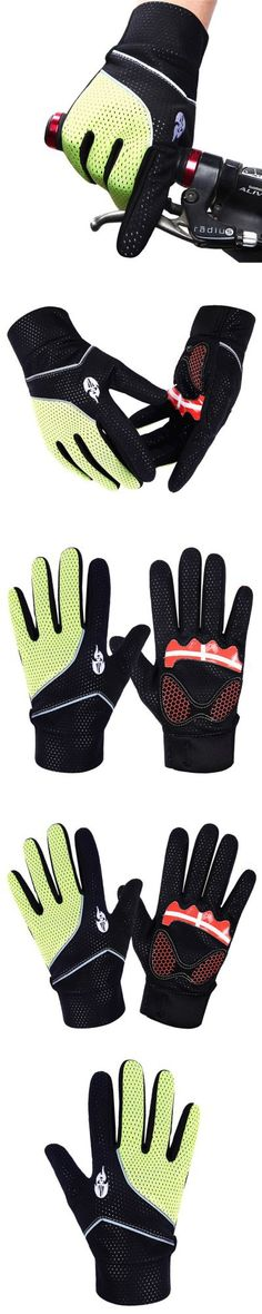 Cycling Gloves | WOLFBIKE Winter Cycling Full-finger Gloves Warm Keeping