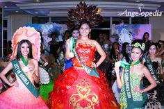 Miss Philippines Earth 2015 Trash to Class Contest winners