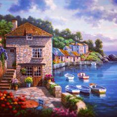 Harbor Garden Artist : Sung Kim
