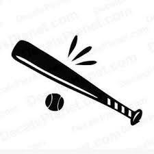 Horizontal Baseball Bat Clip Art Google Search Kidzone