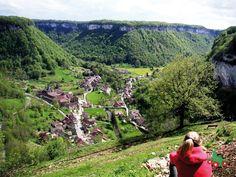 Baume-les-Messieurs | Les plus beaux villages de France | Jura, France | #JuraTourisme