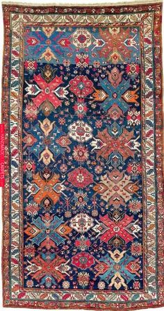 Caucasian Derbent rug, ca Northern Caucasus made in & around the city of Derbend (Derbent) in the upper northeast corner of what is now the Russian Republic of Dagestan. Diy Carpet, Modern Carpet, Rugs On Carpet, Carpet Decor, Black Carpet, Carpet Tiles, Carpets, Textured Carpet, Patterned Carpet