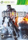 Xbox 360 Battlefield 4 Microsoft 2013 Brand New Factory Sealed