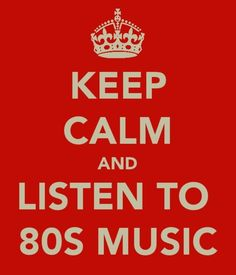 Listen to clasic rock like 70's and 80's music!
