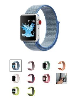 Nylon Loop Replacement Band for Apple Watch  #apple #applewatch #iwatch #applefans