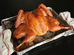 I know it looks wrong, but I must convince hubs to try this and salt rub on our turkey!