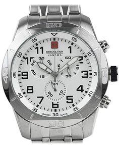Ceas Swiss Military by HANOWA 06-5265.04.001.79 Cronograf cu 73% Reducere de Pret Watches, Military, My Style, Life, Black Friday, Schmuck, Wristwatches, Clocks, Military Man