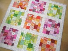 """Elizabeth Hartman answers the question, """"What does modern quilting mean to me?"""" on www.themodernquiltguild.com. What does it mean to you??"""