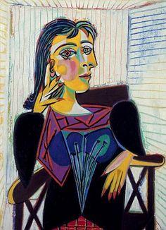 Portrait of Dora Maar, 1937 by Pablo Picasso
