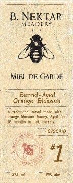 Orange Blossom Honey Mead