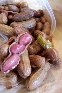 Cajun boiled peanuts...I think this is going to be my recipe of choice