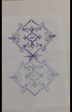 Hand Embroidery Design Patterns, Embroidery Motifs, Cnc Plasma, Handmade Felt, Kaftan, Pattern Design, Sketch, Decoration, Drawings