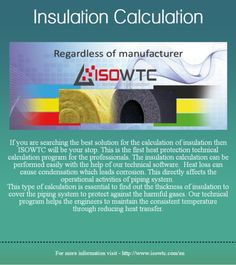 Insulation Calculation Calculator Software : Now COM CAD is giving opportunity to know about the ISOWTC Insulation Calculation Software with the help of http://www.isowtc.com/en/aboutisowtc and also giving you the online portal from where you can buy this software online - http://pay.isowtc.com | isowtc