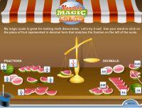 Decimal Games - Mendel's Magic Math Market