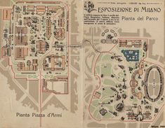 Did you miss Expo 1906 Milan? Don't miss Expo 2015 Milan! Milan To Lake Como, Milan City, Expo 2015, Old Images, History, Vintage, Maps, Urban, Pavilion