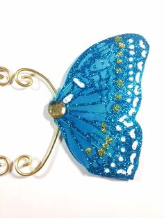 Blue Fairy Earwings oor vleugels Earcuffs Fairy vleugels