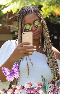 African Hair Braiding : Beyoncé April 2017 Easter - Sonia Santiago Home Box Braids Hairstyles, My Hairstyle, Beyonce Lemonade Braids, Beyonce Braids, Black Girl Braids, Girls Braids, Black Girls Hairstyles, African Hairstyles, Curly Hair Styles