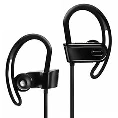 Pure Mobility Sport XS InEar Wireless Bluetooth Headphones  Noise Cancelling Sweatproof Wireless Headset Upgraded Version >>> Read more at the image link.