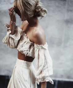 Thanks to high-end labels like Philosophy and Dodo Bar Or, the crop top is no longer the reserve of teenage girls. Having become a wearable part of the summer fashion landscape in recent years, this season's wave of feminine designs continue to elevate the look to grown-up status.